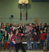 Dance moves at Christmas Concert