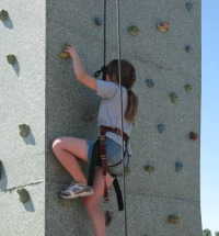 Rock Climbing at Fun Fair